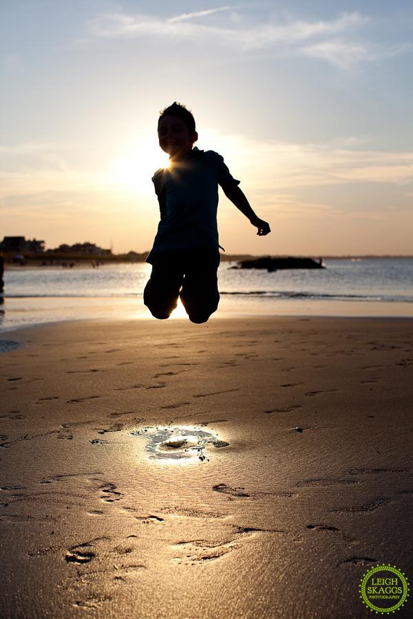 Va Family Portrait Photographer  ~Sneak Peek~  Mason sure can jump!!