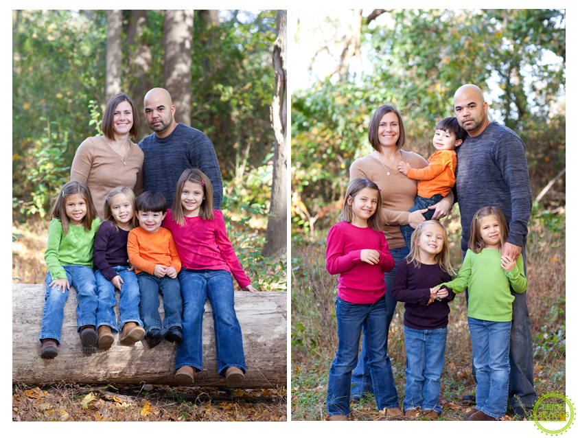 Norfolk Virginia Family Portrait Photographer  ~The Grell/Asperin Clan gets a Sneak Peek!~