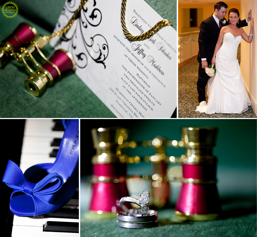 Norfolk Wedding Photographer  ~Lindsey & Scott are Married~  Harrison Opera House Part 2