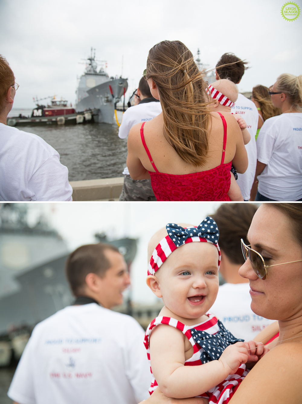 Norfolk Virginia Operation Love Reunited Photographer USS Vella Gulf Returns ~Shaw Homecoming~