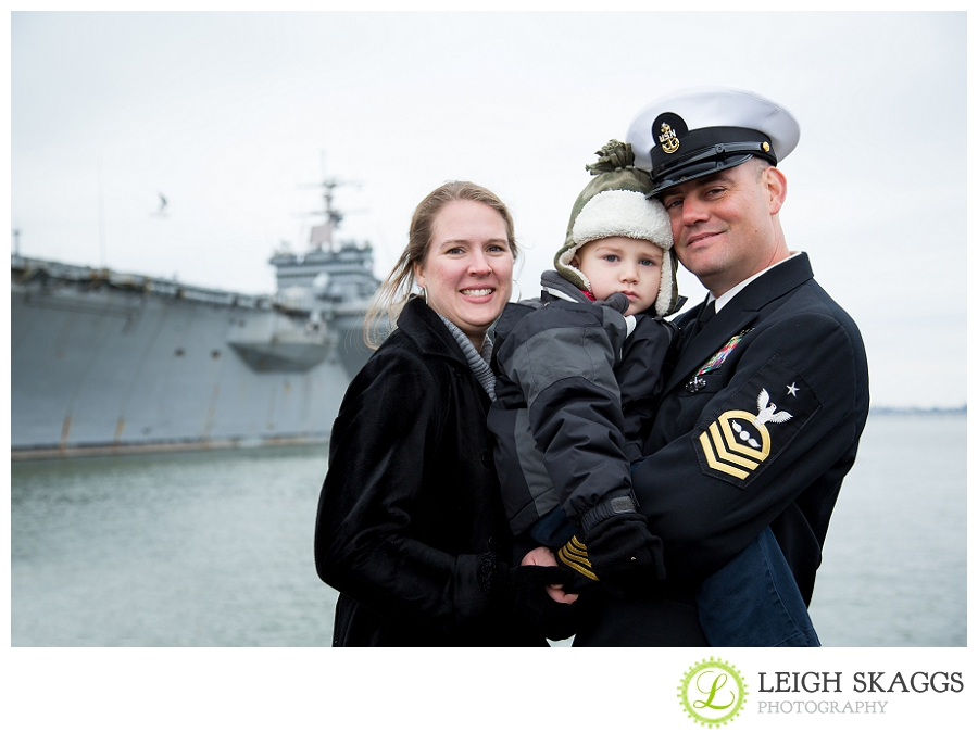 Norfolk Virginia Homecoming Photographer  ~The USS Enterprise is Home!~
