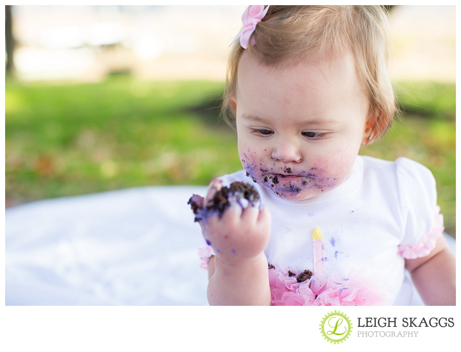 Norfolk Virginia Event Photographer ~Leahs Cake Smash!~