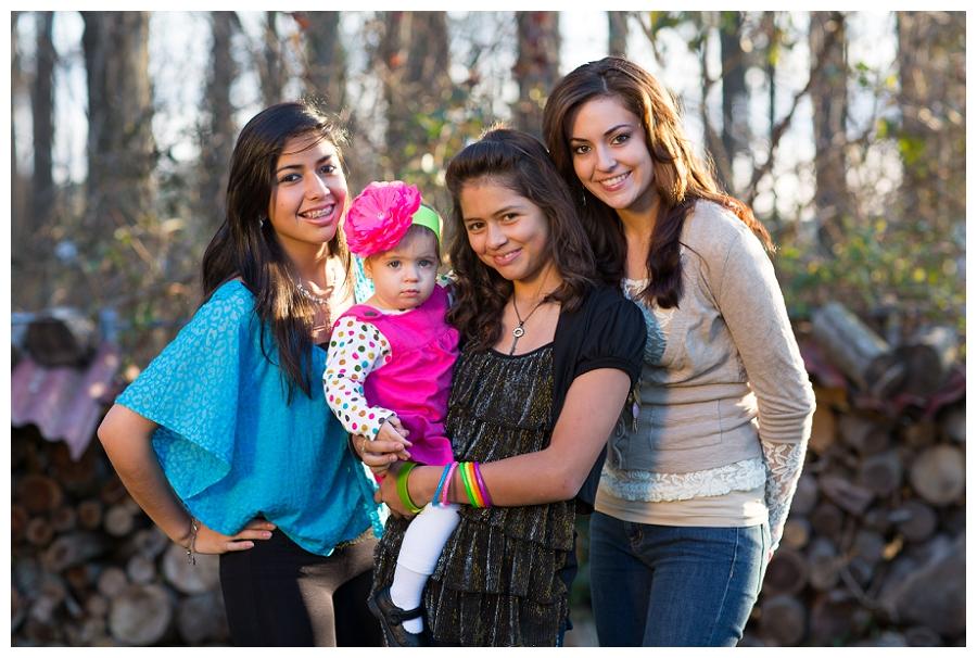 Chesapeake Virginia Family Portrait Photographer  ~The Baca Family~