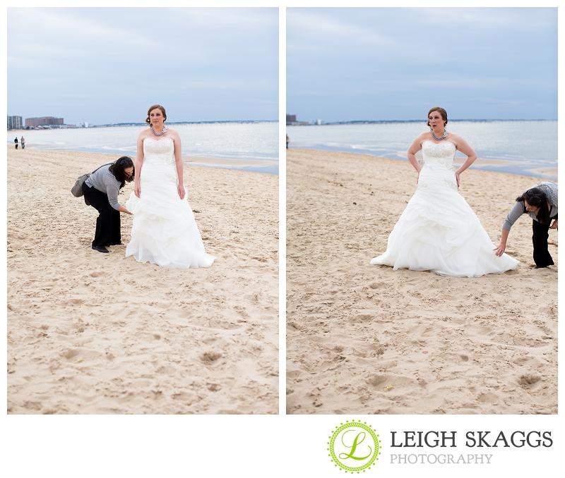Virginia Beach Wedding Photographer ~Kimberly & Greg are Married~ Behind the Scenes