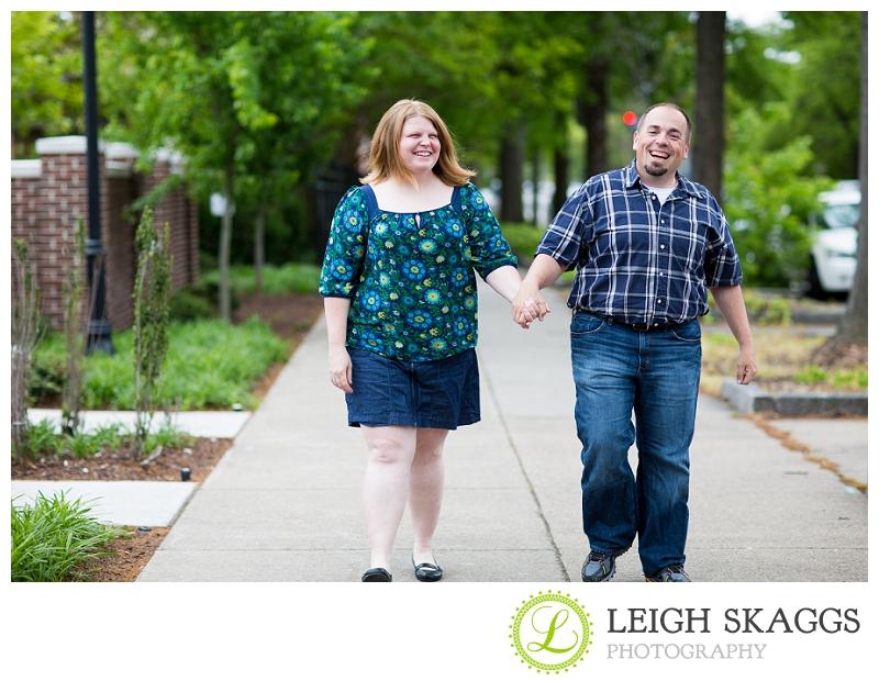 Norfolk Engagement Photographer ~Jessica & Jeremy are Engaged!~