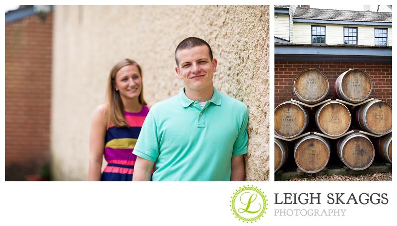 Williamsburg Winery Engagement Photographer ~Kelly & Craig are Engaged!~