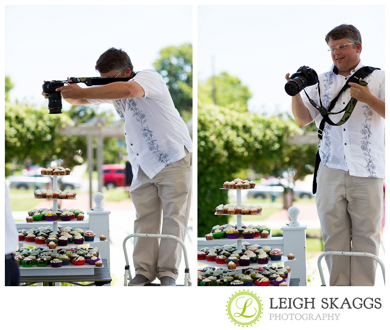 Cape Charles Wedding Photographer ~Jessica & Jeremy are Married~ Behind the Scenes