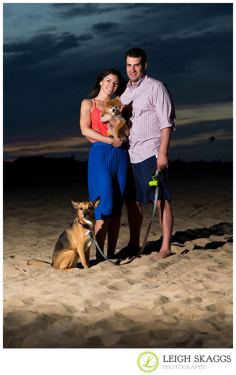Virginia Beach Engagement Photographer ~Kelly & Matt are Engaged~