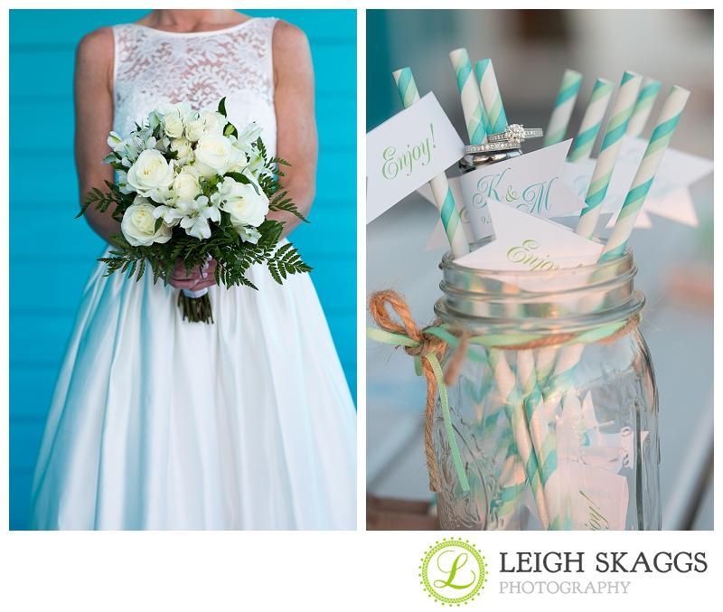 Eastern Shore Aqua Wedding Photograher ~Kelly & Matt are Married!~  Sneak Peek