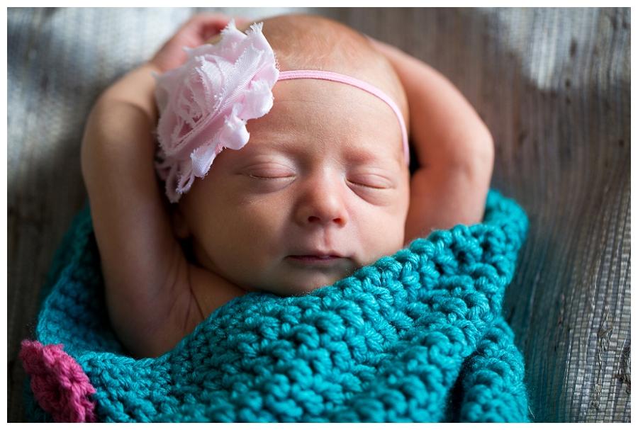 Virginia Beach Newborn Photographer ~Welcome to the World Savannah!~
