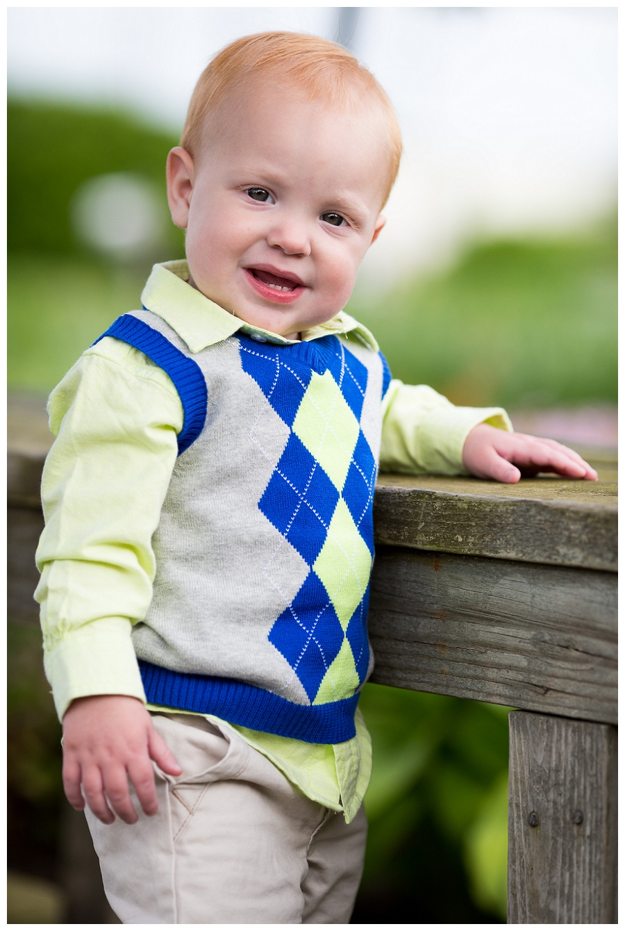 Norfolk Childrens Portrait Photographer  Easton is 1!!!