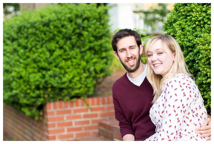 Olde Towne Portsmouth Engagement Photographer  Ashley & Ben are Engaged!