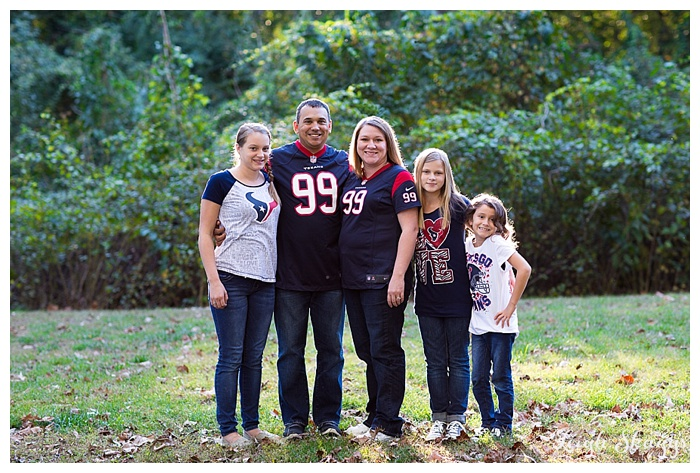 Great Dismal Swamp Family Portrait Photographer -Houston Texans Fans take on the Swamp!-