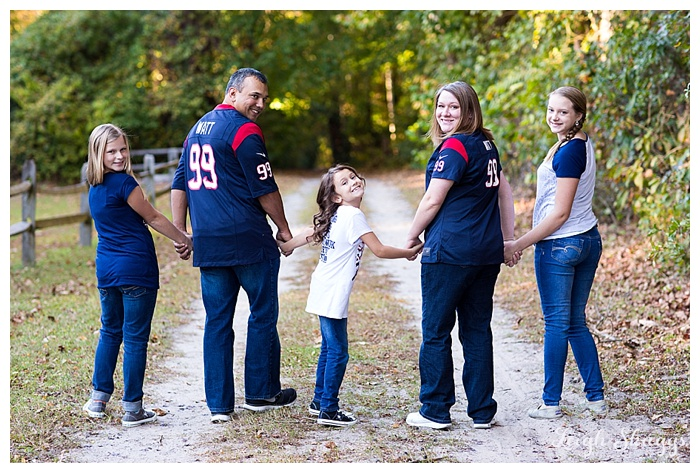 great dismal swamp family portrait photographer houston texans fans