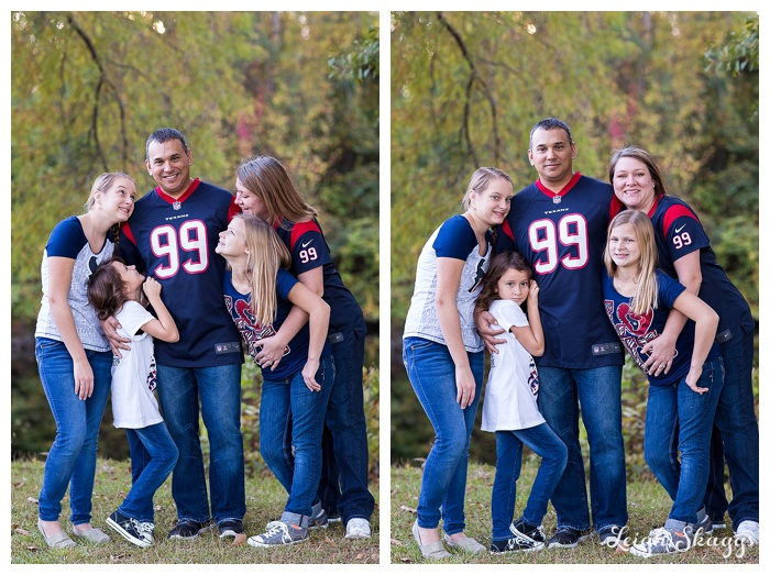 Great Dismal Swamp Family Portrait Photographer  Houston Texans Fans take on the Swamp!