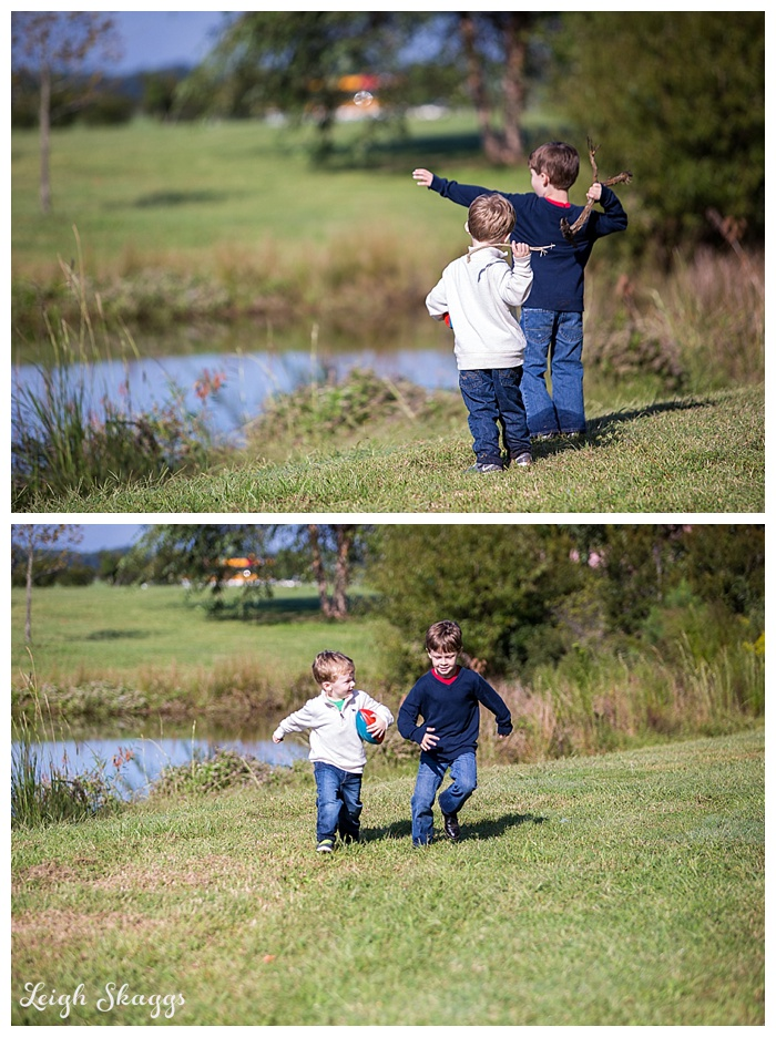 Pungo Family Portrait Session  Dinosaurs are after us!!