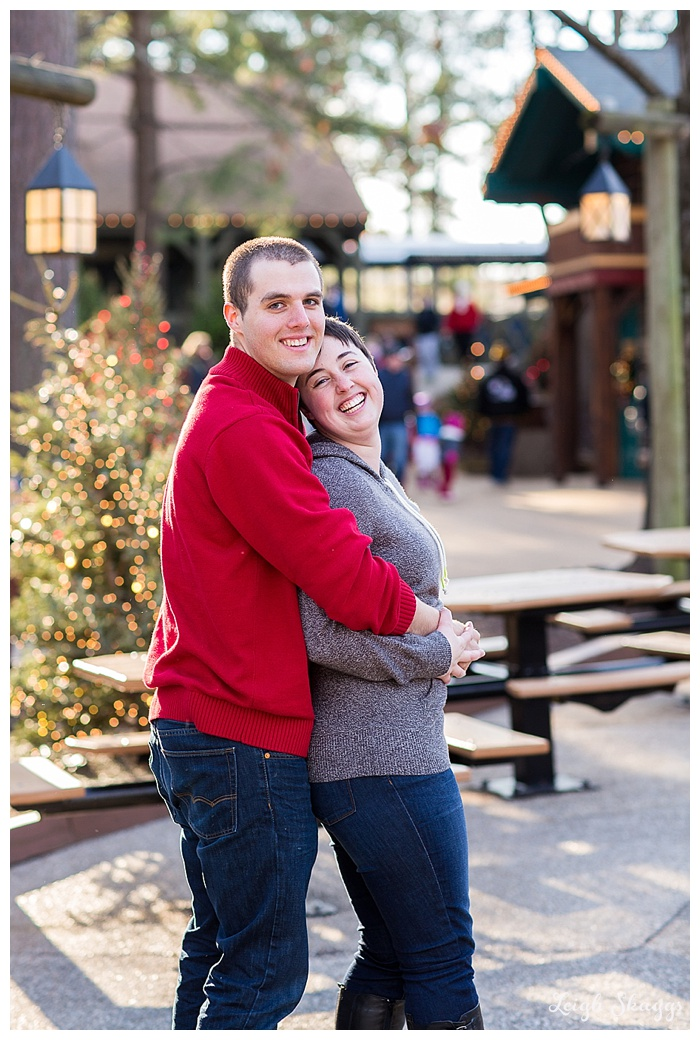 Roller Coasters and Romance...a Busch Gardens Engagement Session!