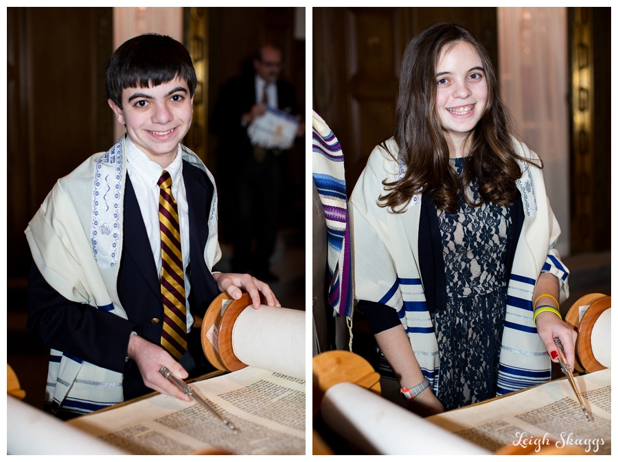 Happy Bnai Mitzvah Audrey and Jonathan!