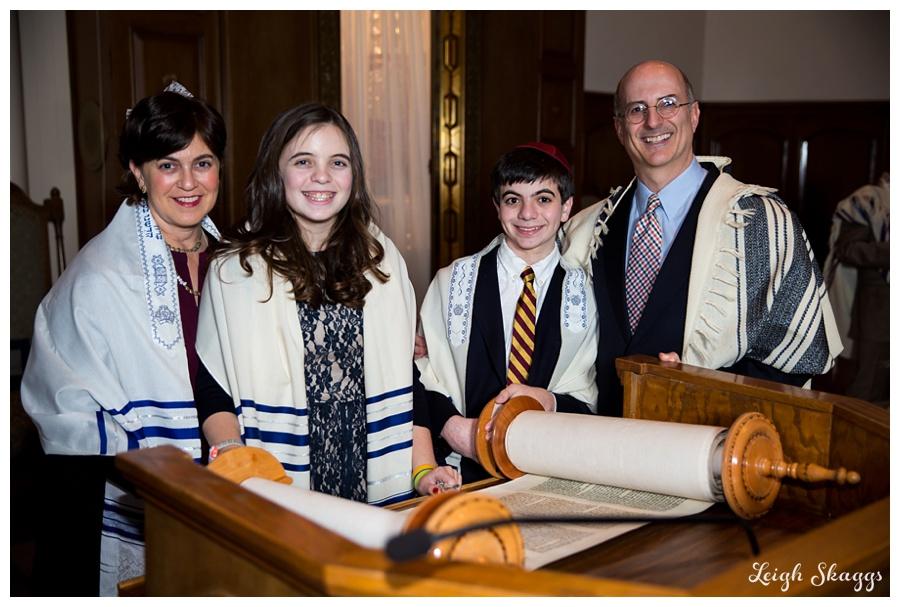 Happy B'nai Mitzvah Audrey and Jonathan!