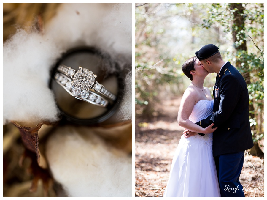 Erika and Dakotah are Married!!!  A sneak peek of their Harleys Haven Wedding in Windsor Virginia