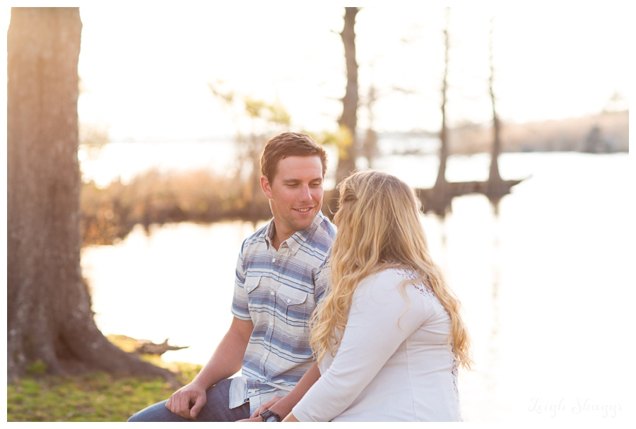 A Munden Point Park Engagement Session with a fun couple and some adorable pooches!