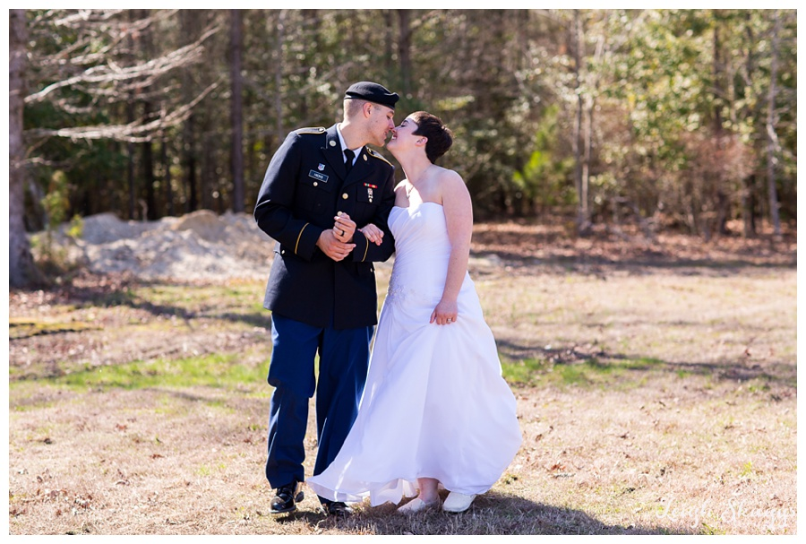 Erika and Dakotah are Married!!  A Rustic Beach themed Wedding at Harleys Haven in Windsor Virginia!