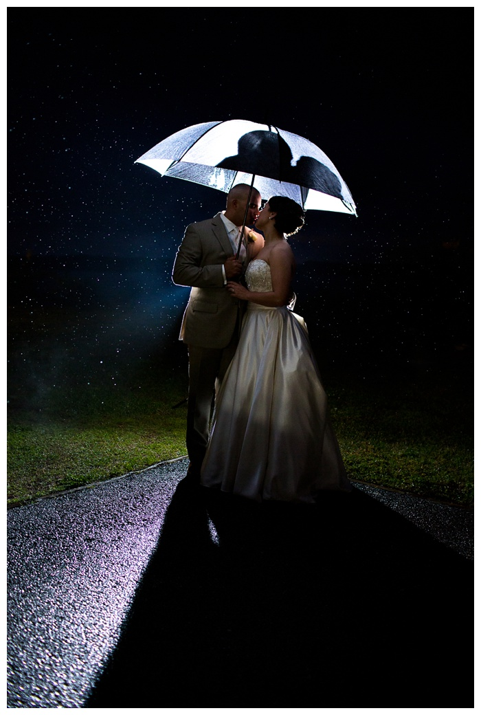 Krista & Andy are Married...and the rain was NOT even a factor!