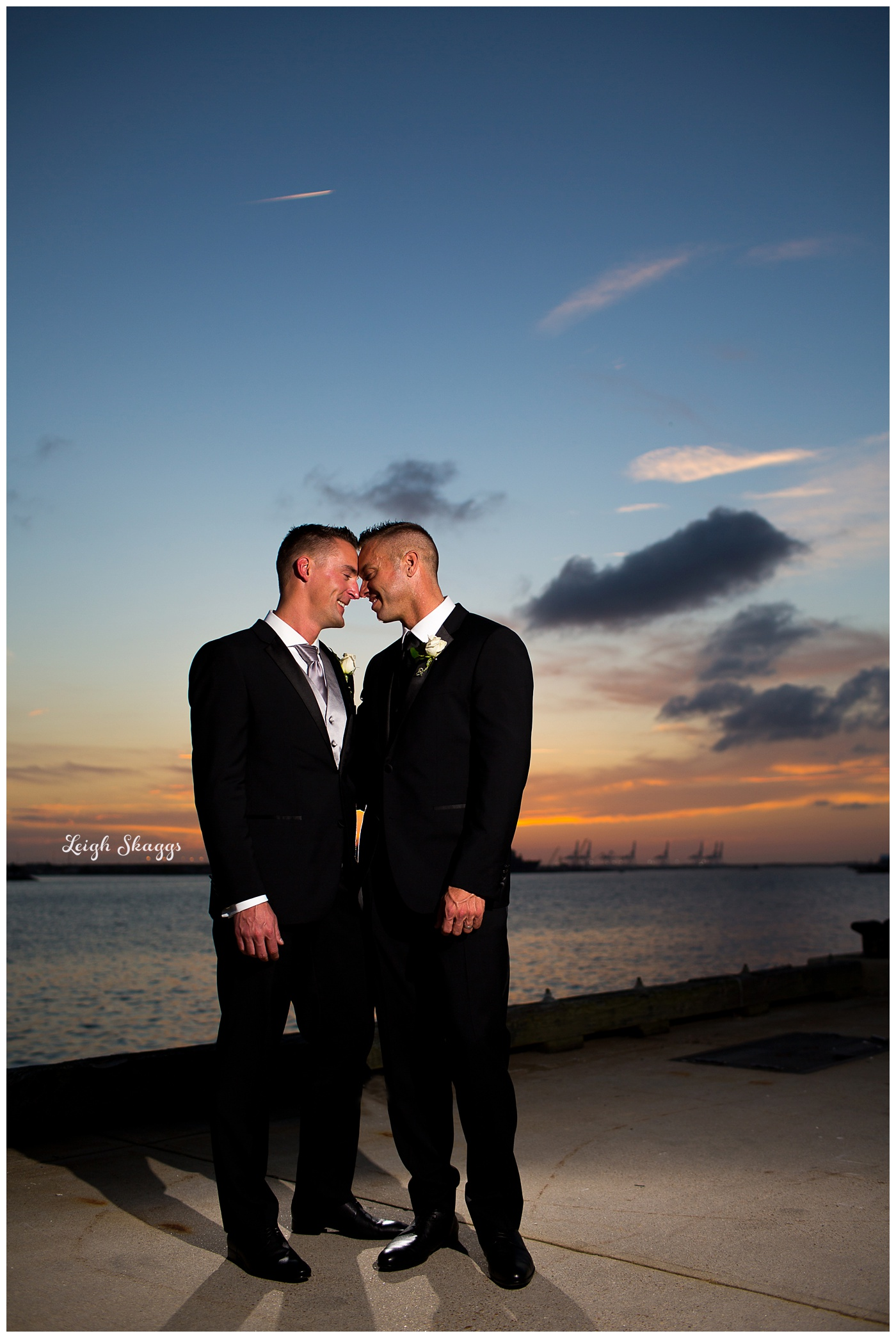 David and Tim are Married!  A sneak peek from the Half Moone
