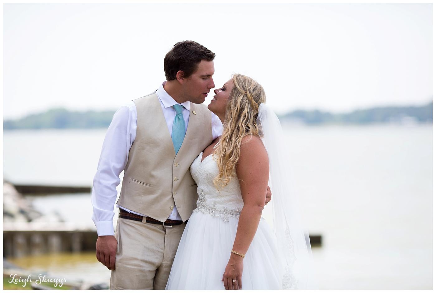 Erin and Jake are Married!  A Sneak Peek from their Gwynns Island Virginia wedding!