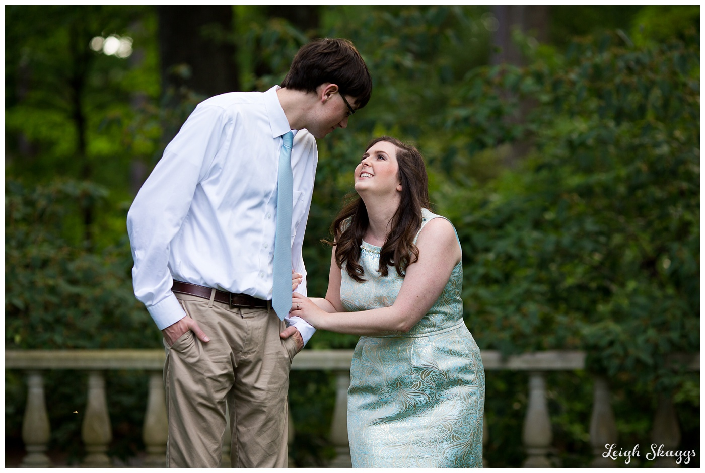 Emily and Anthony are Engaged!!  A Norfolk Botanical Gardens Engagement session!