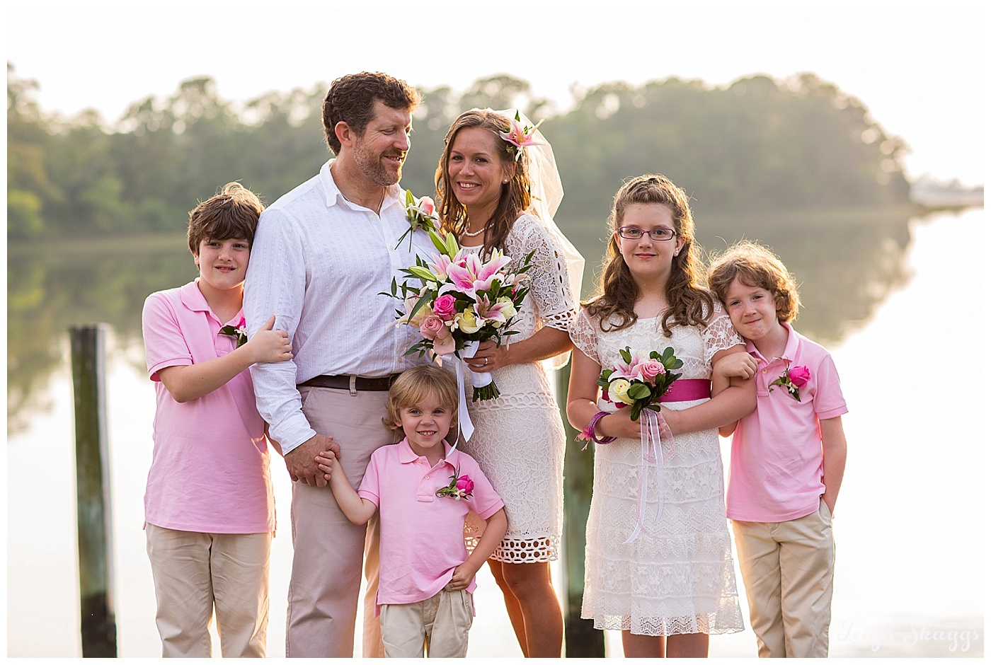 Ruth and Morgan are Married!  Their Cape Charles Eastern Shore Wedding on the blog!