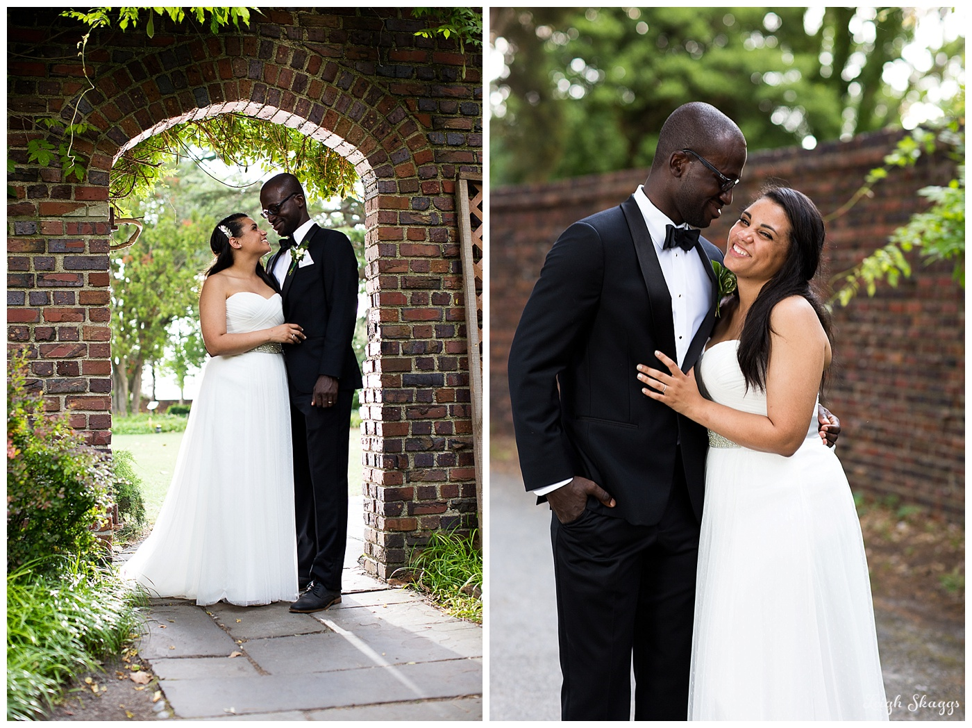 Alena & Luke are Married!!  A sneak peek from their Hermitage Museum & Garden Wedding!