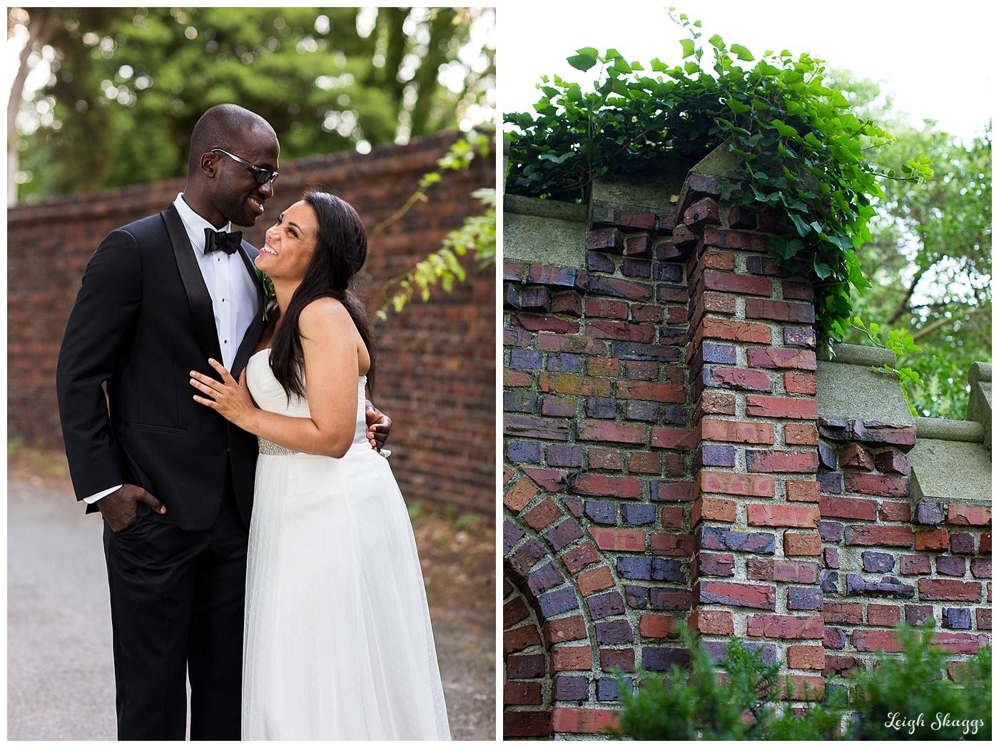 Alena & Luke are Married!  A Norfolk Virginia Hermitage Museum and Garden Wedding