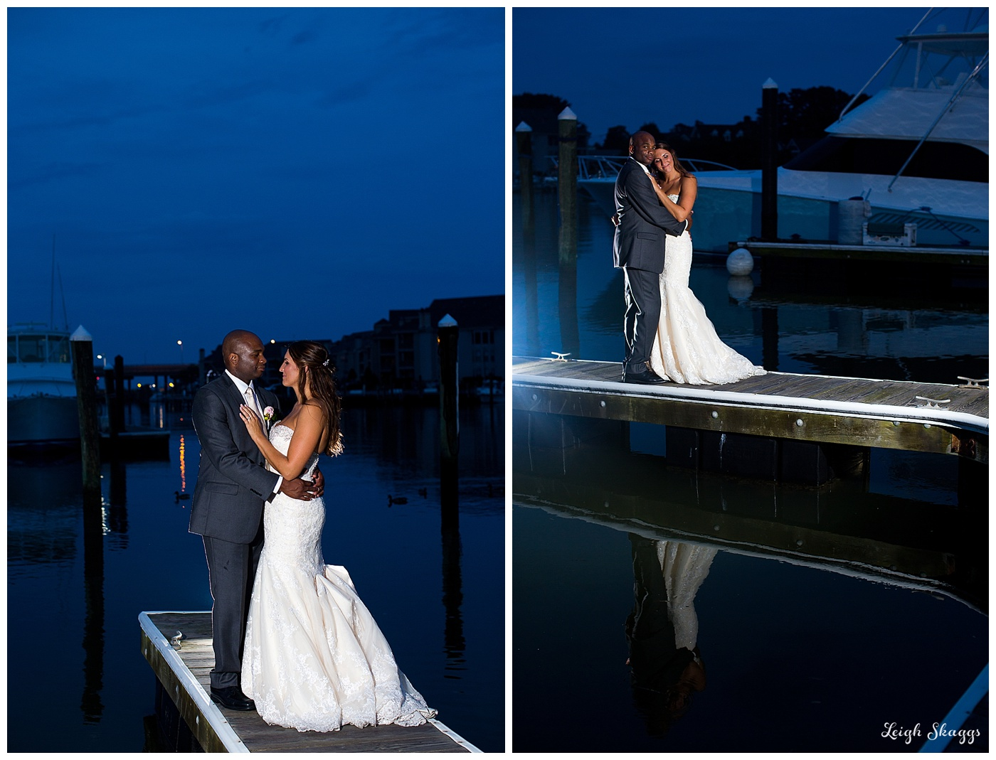 Jessica & Oliver are Married!  Loved their Virginia Beach Water Table Wedding!!
