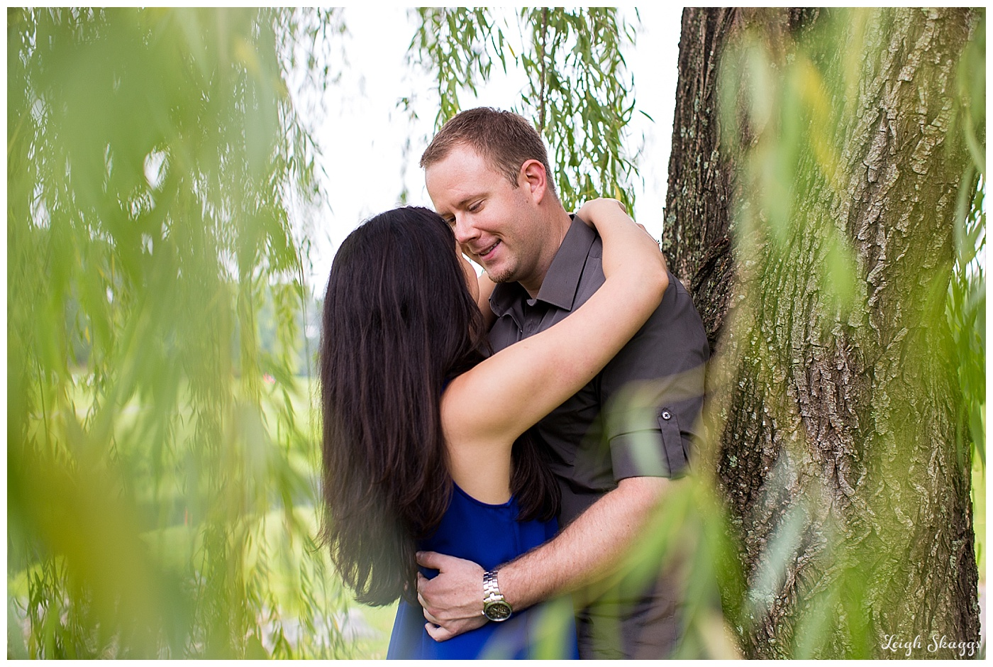 Amanda & Billy are Engaged!  Their Fords Colony Country Club Williamsburg Virginia Engagement session!