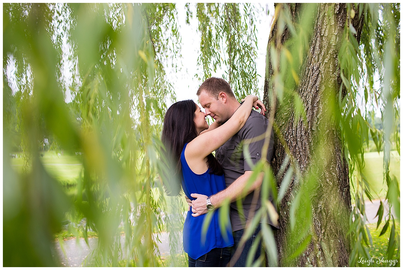 Amanda & Billy are Engaged!  Their Ford's Colony Country Club Williamsburg Virginia Engagement session!