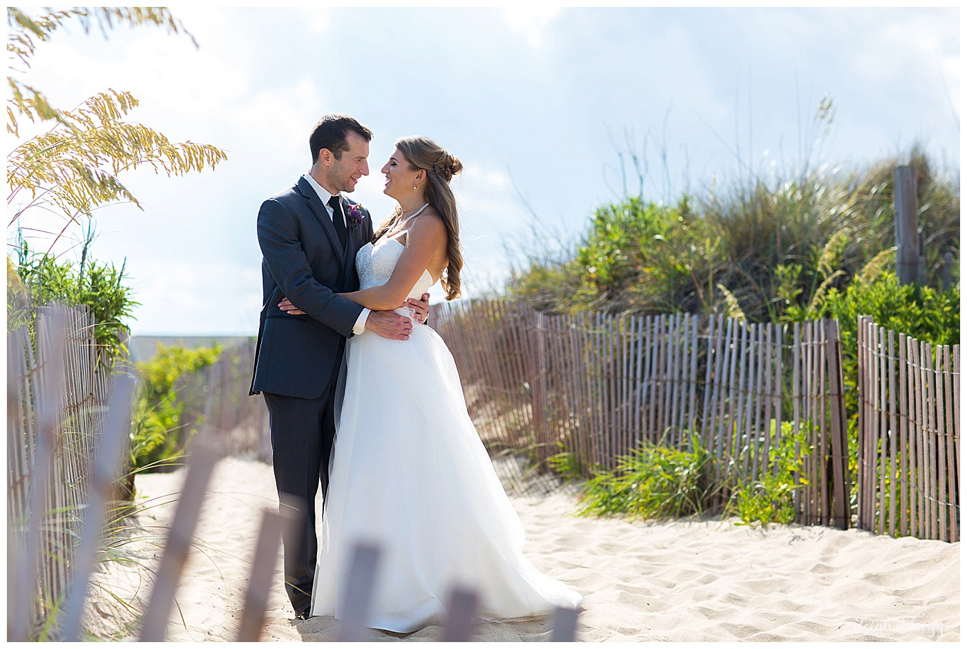Remy & Michael are Married!!  A sneak peek of their Virginia Beach wedding!