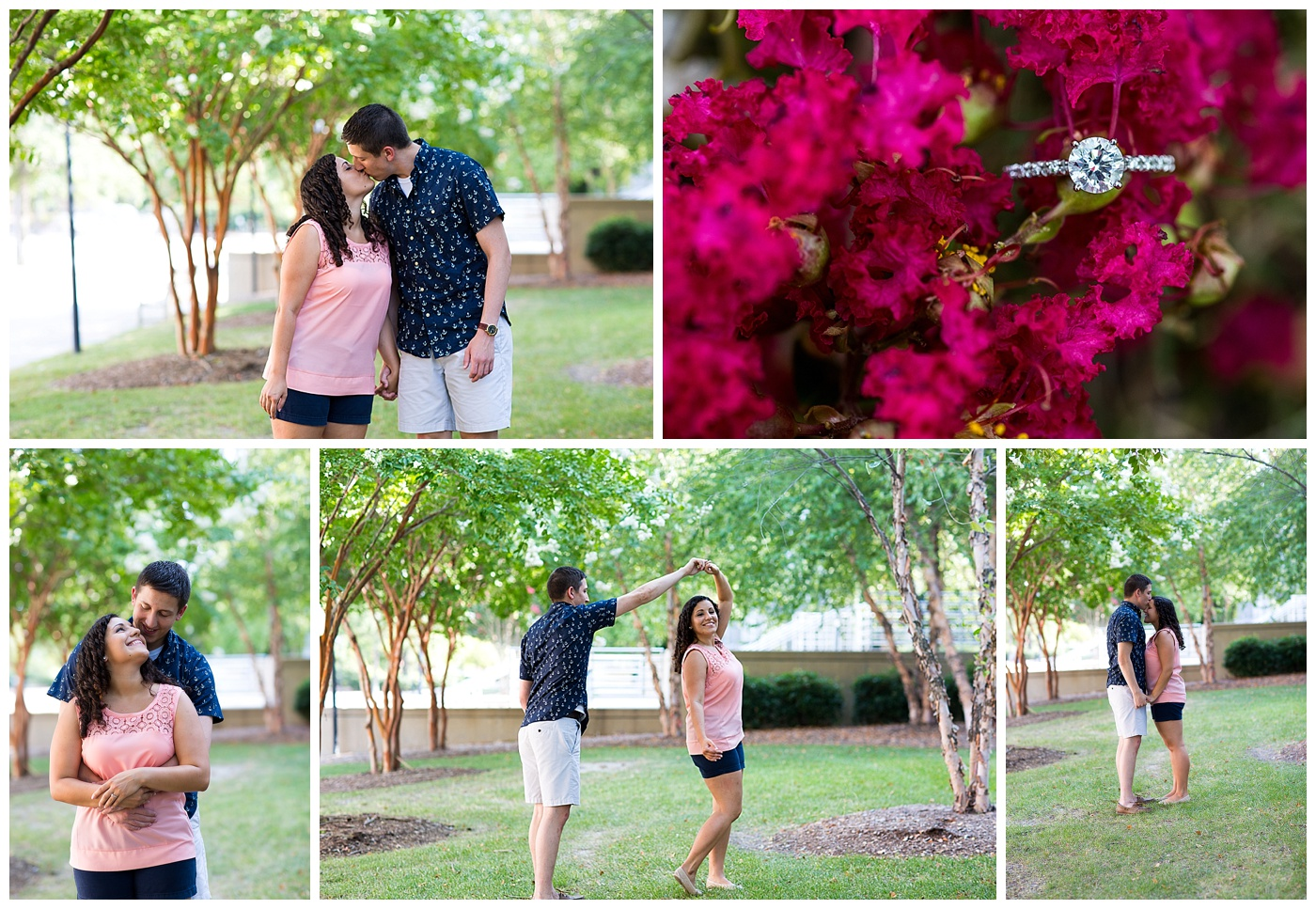 Sarah & Nick are Engaged!  Thanks for showing me around ODU!!