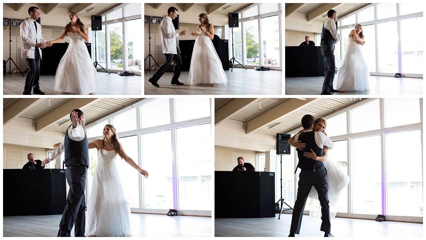 Remy & Michael are Married!  Their Virginia Beach Water Table wedding was such a fun day!!
