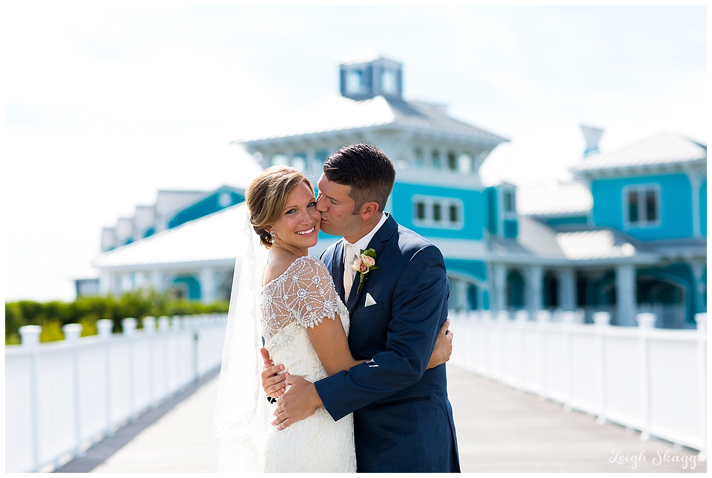 Jenna & Bob are Married!!  A sneak peek from their Oyster Farm at Kings Creek wedding!!