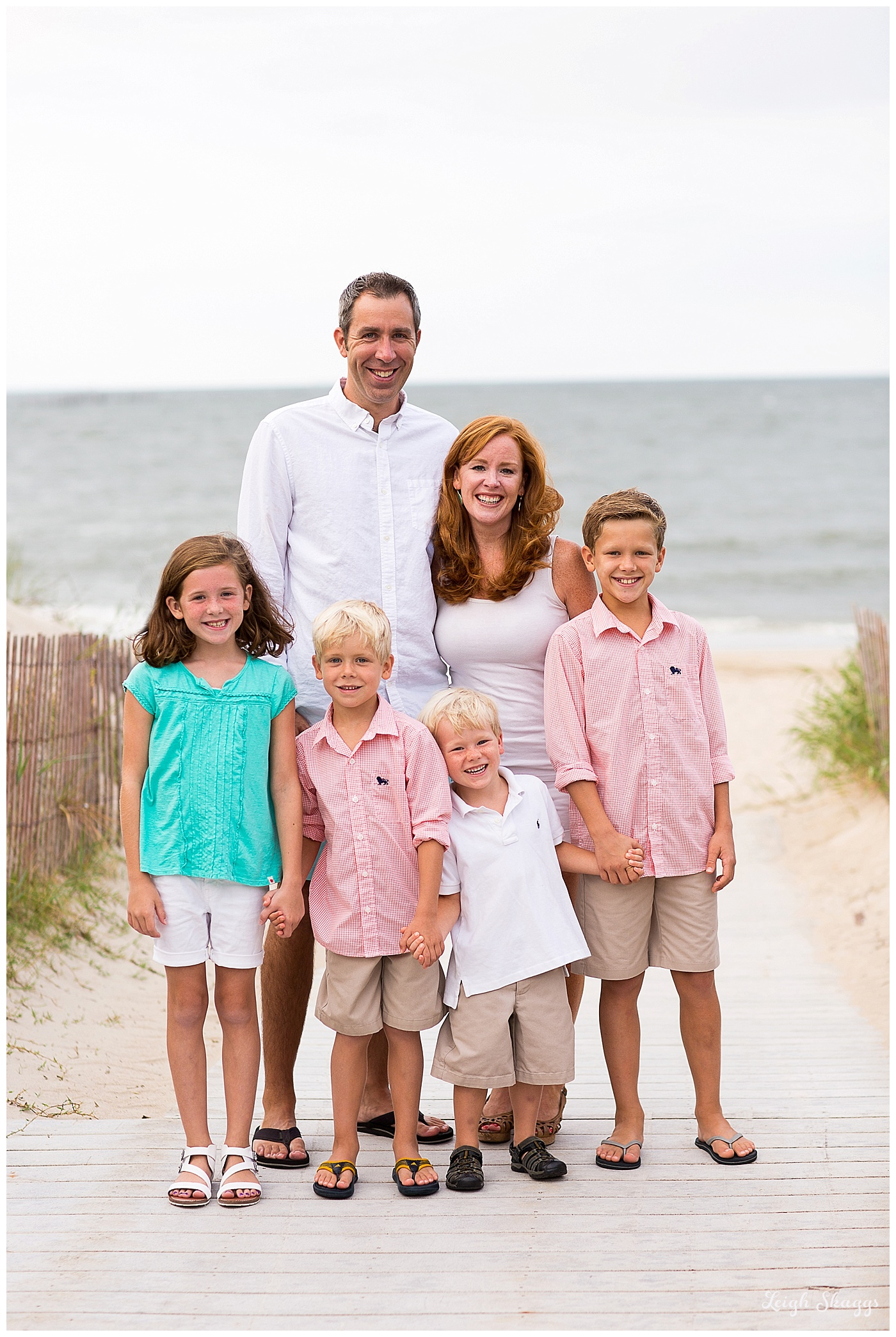 Love this Awesome Family... A Chicks Beach Family session!