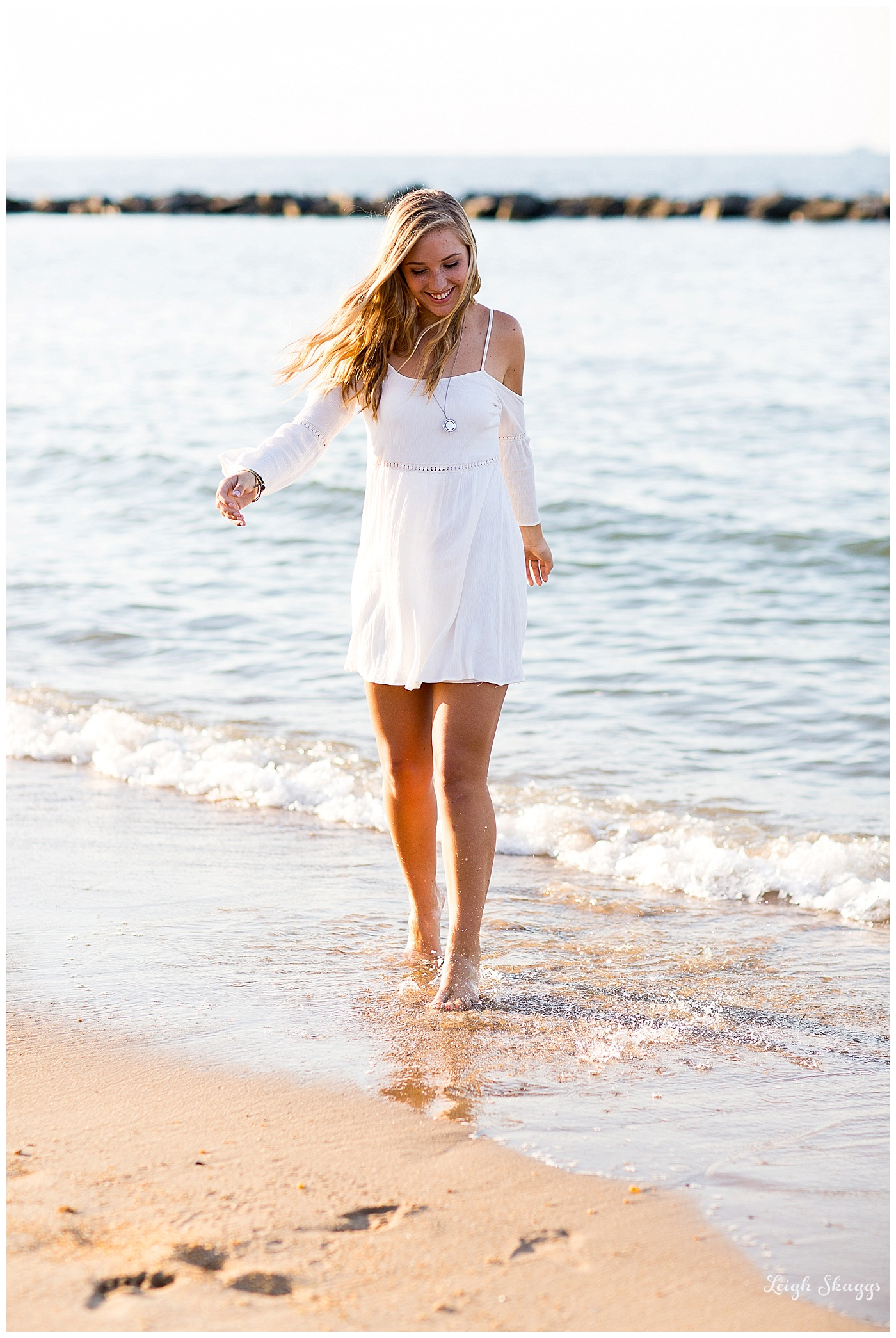 Natalie is a Senior!!  An East Beach Senior Portrait session!
