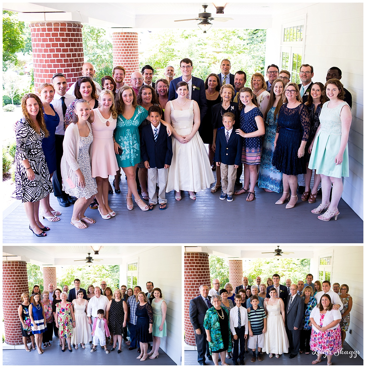 Emily and Anthony are Married!!!  A Womens Club of Portsmouth Brunch Wedding!