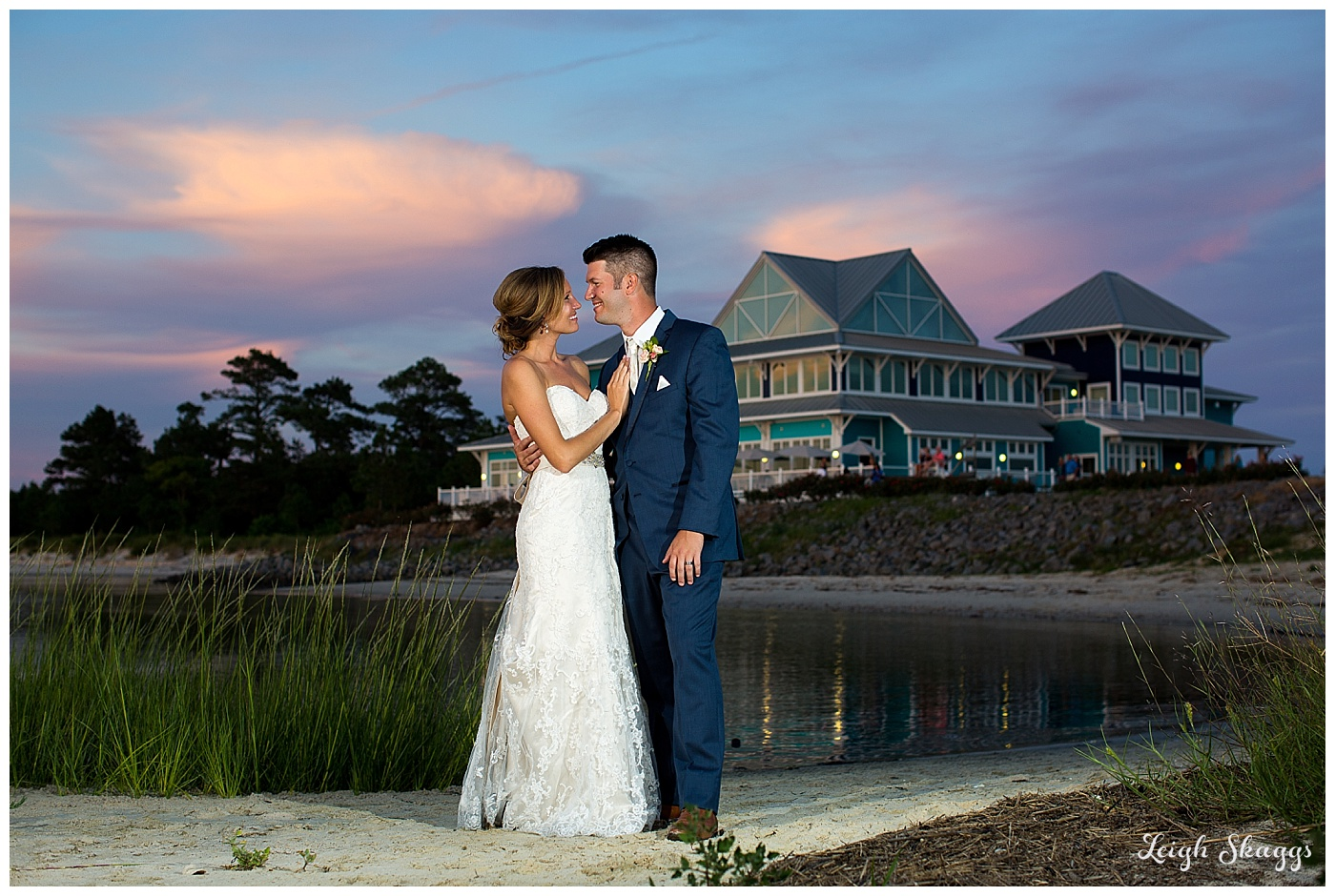 Jenna and Bob are Married!!!  An Eastern Shore wedding at the Oyster Farm at Kings Creek!