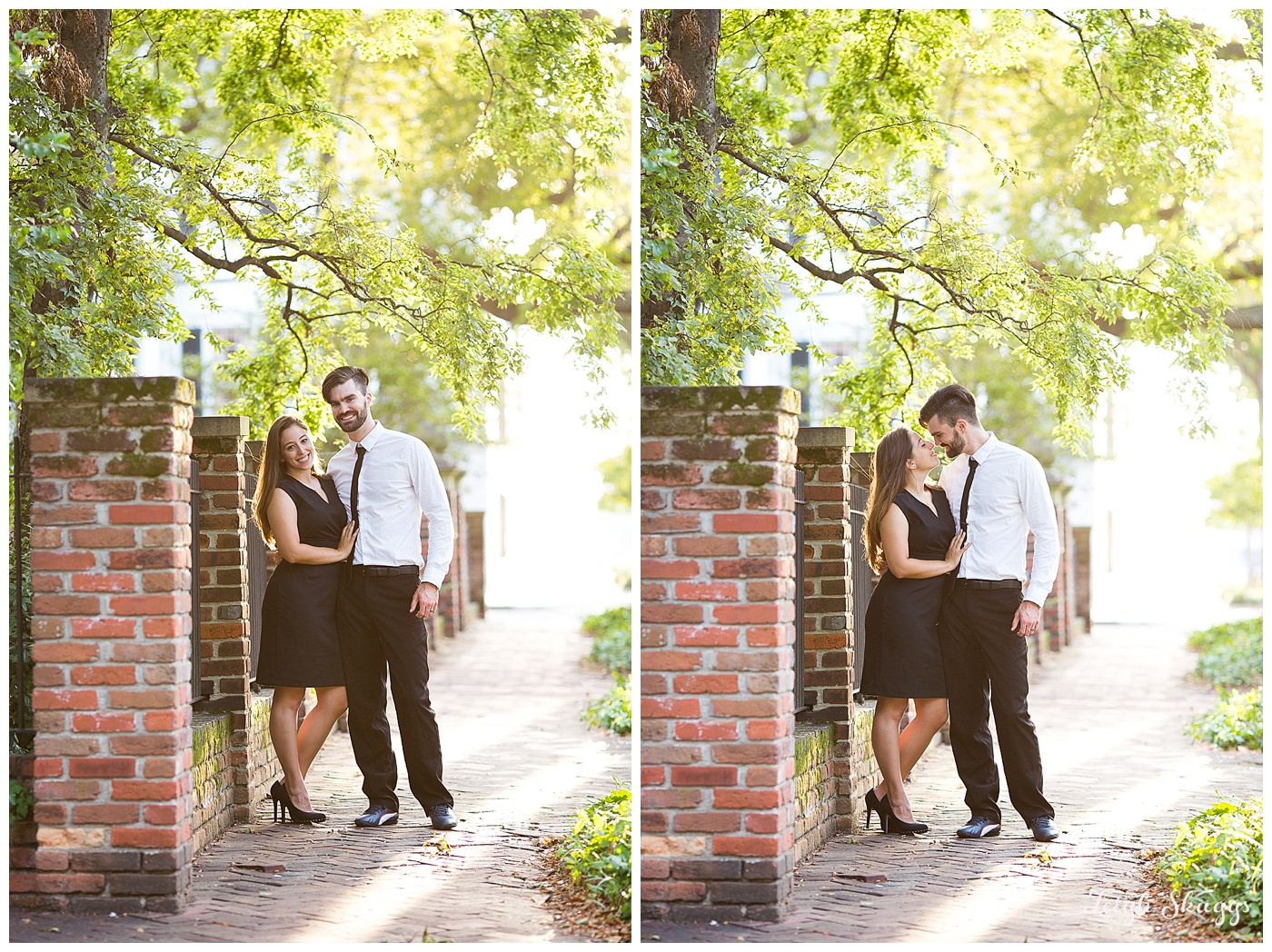 Happy 1st Anniversary Ashley and Justin!  A downtown Norfolk Anniversary session