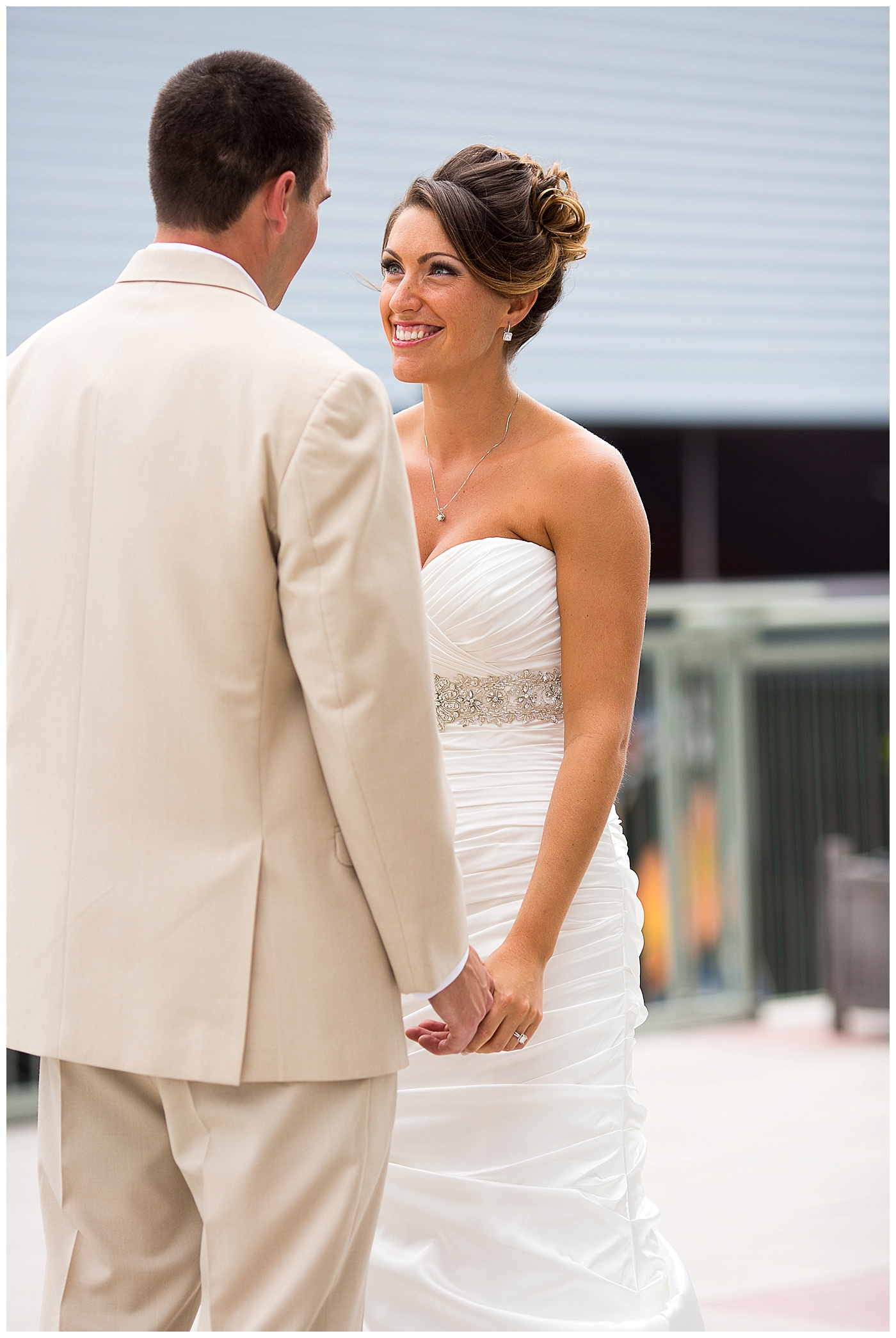 Tracey and Richard are Married!!  A Half Moone Cruise and Celebration Center wedding in Norfolk