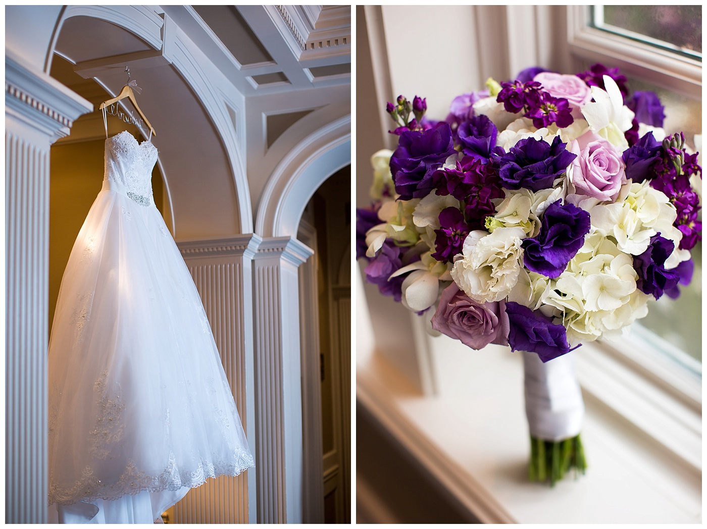 Amanda & Bill are Married!!  Their Fords Colony Country Club Sneak Peek!