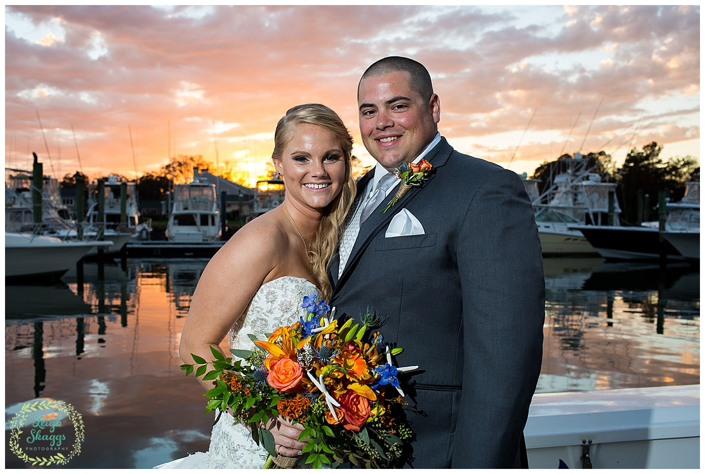 Marley & Dave are Married!  A sneak peek of their Water Table wedding in Virginia Beach!