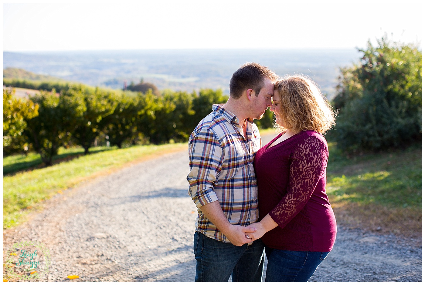 Katie and Matt are Engaged!!  A Carter Mountain Orchard Engagement session in Charlottesville Virginia!