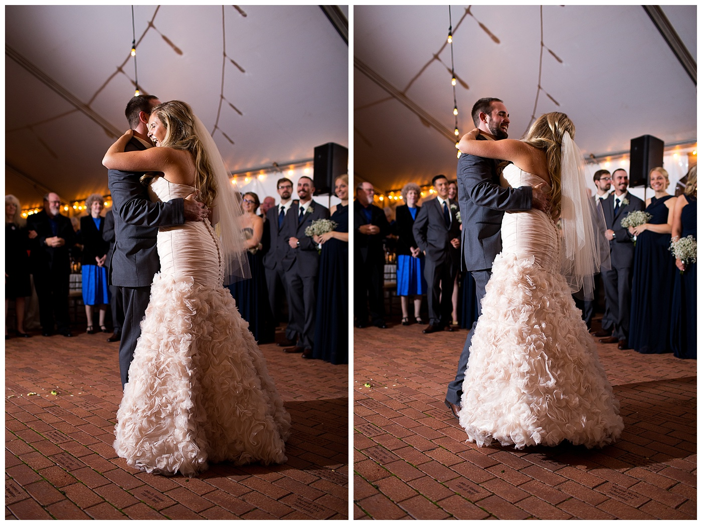 Erin & DJ are Married!!  A William and Mary Alumni House wedding in Williamsburg Virginia!